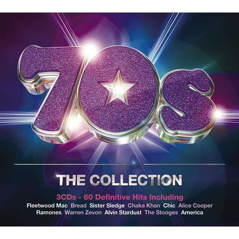 70S The Collection CD by Various Artists 3Disc