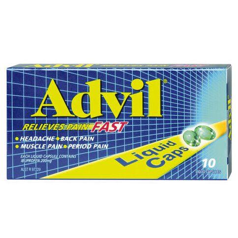Advil Liquid Capsules 10s