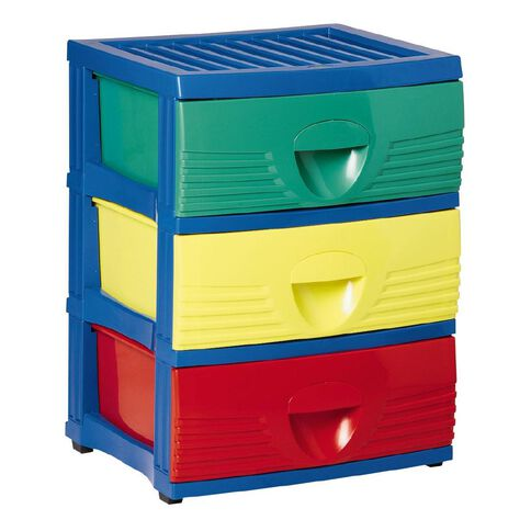 Taurus Childrens Storage Drawers 3 Tier A2