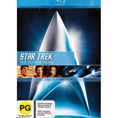 Star Trek 4 Voyage Home Blu-ray 1Disc