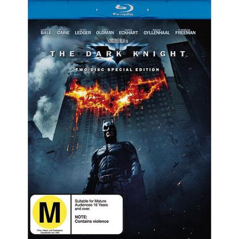 The Dark Knight Blu-ray 2Disc
