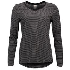 Basics Brand Women's Long Sleeve Loose Fit Tee