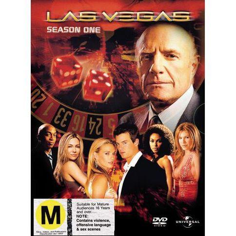 Las Vegas Season 1 DVD 6Disc