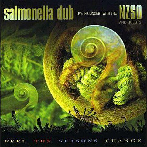 Feel The Seasons Change CD by Salmonella Dub 1Disc
