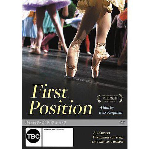 First Position DVD 1Disc