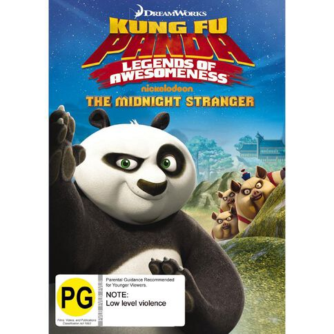 Kung Fu Panda Legends Of Awesomeness - Midnight Stranger DVD 1Disc