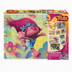 Trolls Puzzle 8 Pack