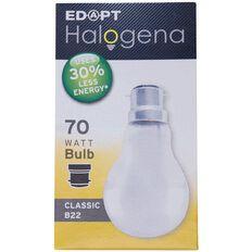 Edapt Halogena Classic B22 70W