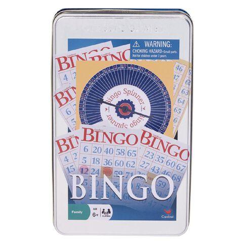 Bingo Game in Tin