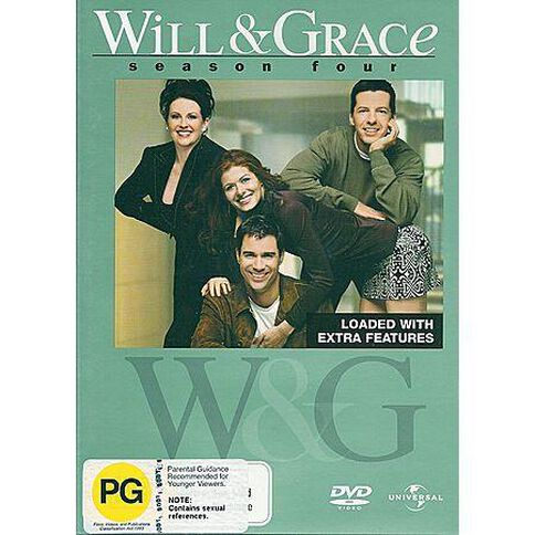 Will and Grace Season 4 DVD 4Disc