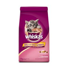 Whiskas Dry Kitten Food 1.5kg