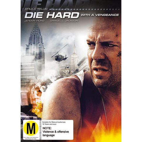 Die Hard with A Vengence DVD 1Disc
