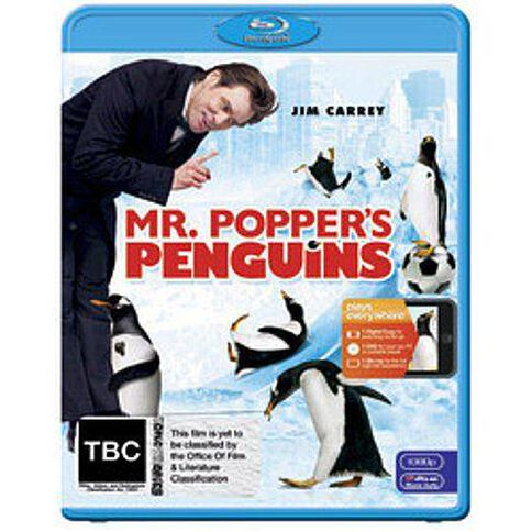 Mr Poppers Penguins Blu-ray 2Discs