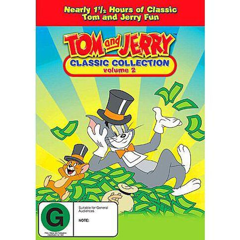 Tom & Jerry Classic Volume 2 DVD 1Disc