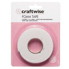 Craftwise Foam Tape 2mm x 10mm x 2m