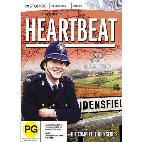 Heartbeat Season 3 DVD 3Disc