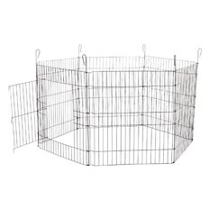 Petzone Pet Playpen Black