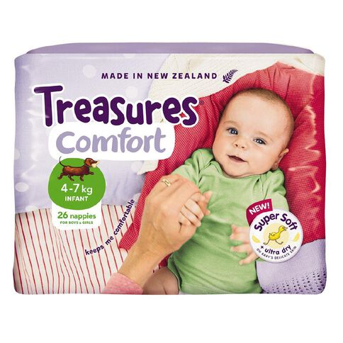 Treasures Standard Infant 26 Pack