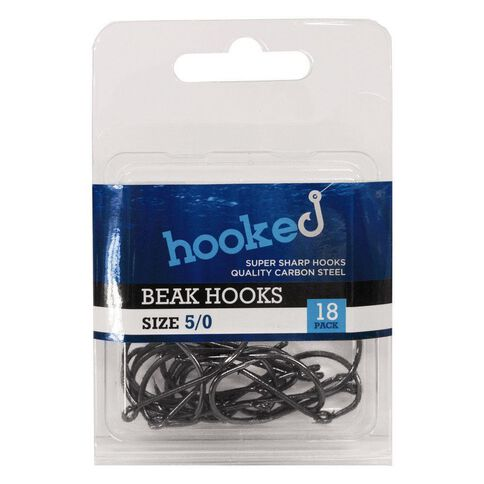 Hooked Beak Hook 5/0 18 Pack
