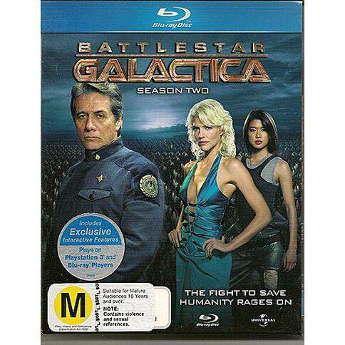 Battlestar Galactica Season 2 Blu-ray 1Disc