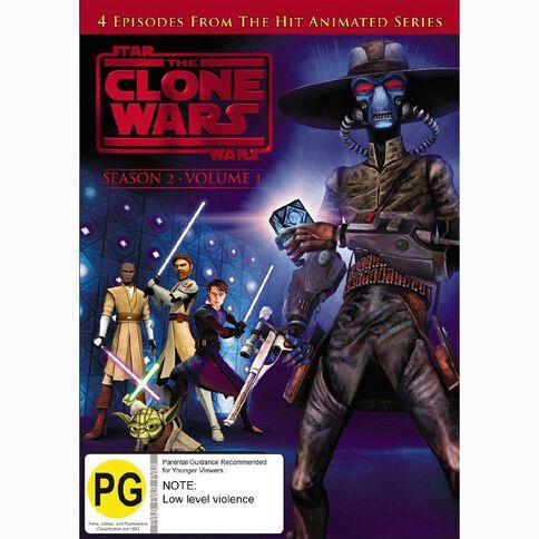Star Wars Clone Wars Season 2 Volume 1 DVD 1Disc