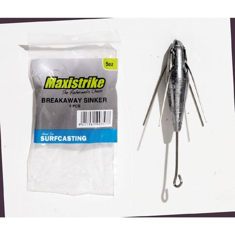 Maxistrike Fishing Sinkers Breakaway 5 oz 1 Piece