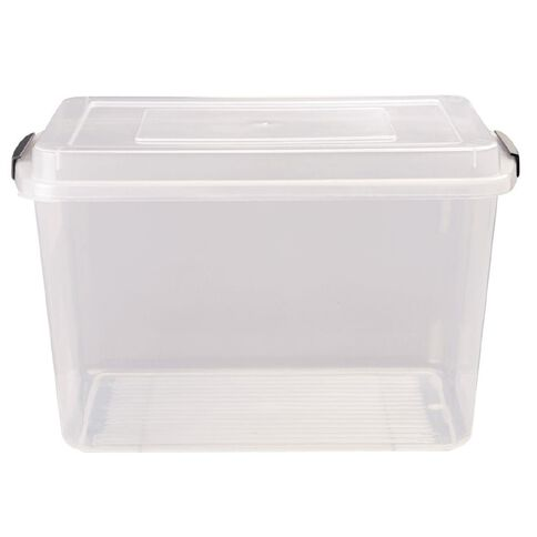 Italio Clip Easy Container Clear 12L