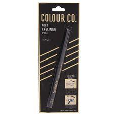 Colour Co. Felt Eyeliner Pen Black