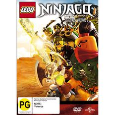 Lego Ninjago Season 5 Volume 2 DVD 1Disc