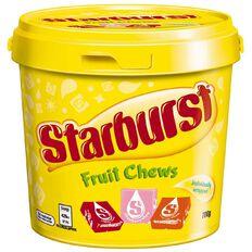 Starburst Chews Bucket 700g