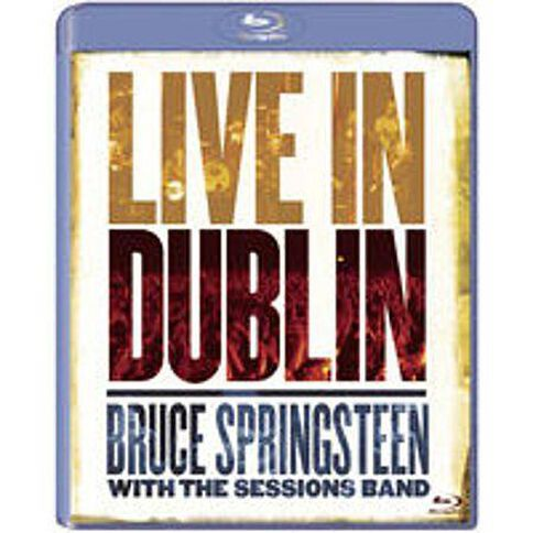 Bruce Springsteen With The Sessions Band Blu-ray/DVD 2Disc