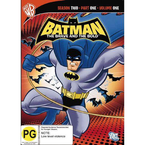 Batman Brave Bold Season 2 Volume 1 DVD 1Disc