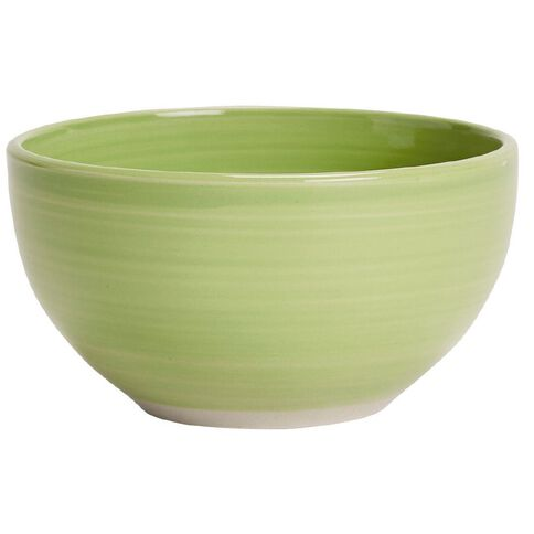 Living & Co Hand Painted Bowl Lime 5.5 inch