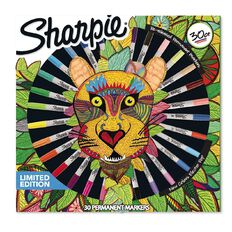 Sharpie Markers Fine Lion Head Assorted 30 Pack