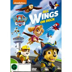 Paw Patrol All Wings On Deck DVD 1Disc