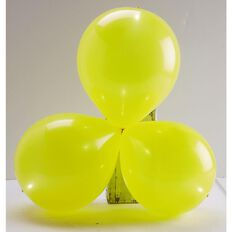 Light up Balloons LED Yellow 5 Pack