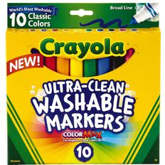 Crayola Ultra Clean Washable Markers 10 Pack