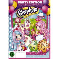 Shopkins Chef Club Party Edition DVD 1Disc