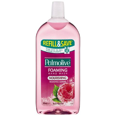 Palmolive Antibacterial Foaming Hand Wash Refill Raspberry 500ml