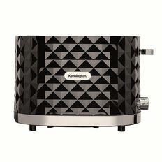 Kensington Diamond Toaster 2 Slice Black