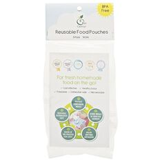 Kai Carrier Reusable Food Pouches 140ml 5 Pack