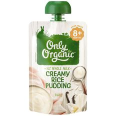 Only Organic Creamy Rice Pudding Pouch 120g