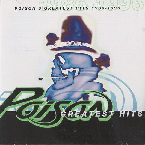 Greatest Hits 86 - 96 CD by Poison 1Disc