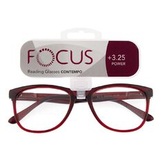 Focus Reading Glasses Contempo 3.25