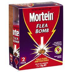 Mortein Flea Bomb Twin Pack