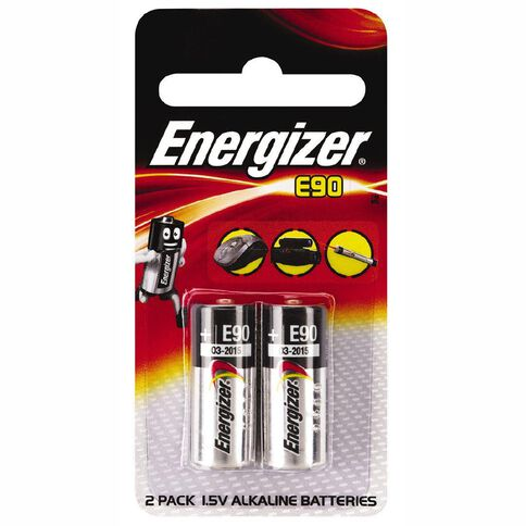 Energizer Battery E90 2 Pack