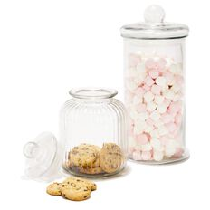 Sort It Ridge Glass Jar 3900ml