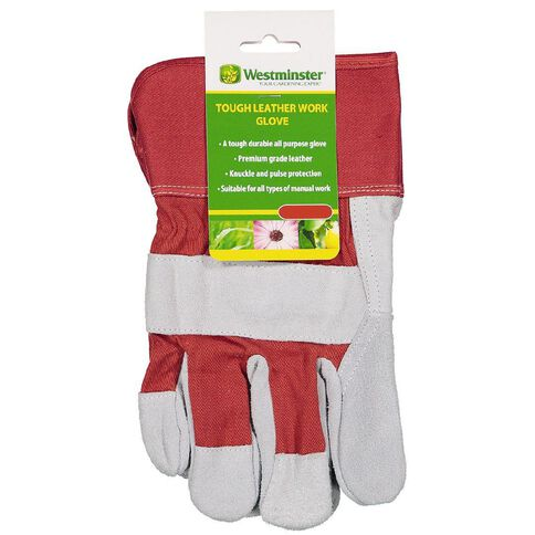 Westminster Tough Leather Work Glove Small