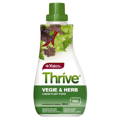 Yates Thrive Liquid Concentrate Vege and Herb 500ml