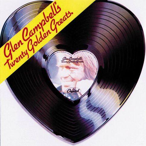 20 Golden Greats CD by Glen Campbell 1Disc